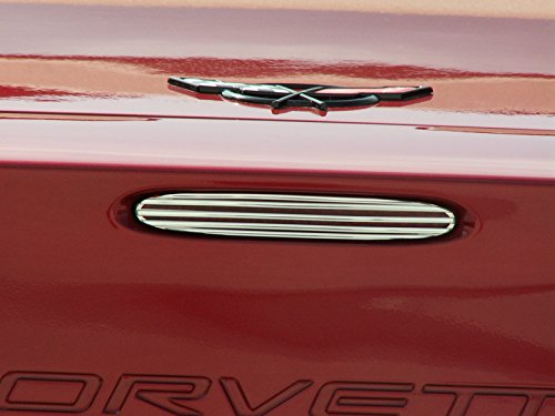 American Car Craft Chevrolet Corvette 1997 1998 1999 2000 2001 2002 2003 2004 Third Brake Light Chrome Cover Surround Trim Kit