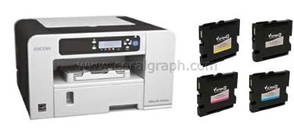 Impresora de sublimación Ricoh SG-3110DN A4 GELJet Visi Sub ...