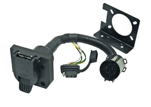 Reese Towpower 74682 7-Way Multi-Plug Connector (Tacoma Trailer Wiring Harness)
