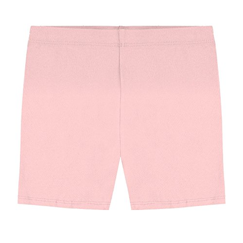 - Hollywood Star Fashion Khanomak Kids Girls Biker Shorts (Size 10/11, Light Pink)