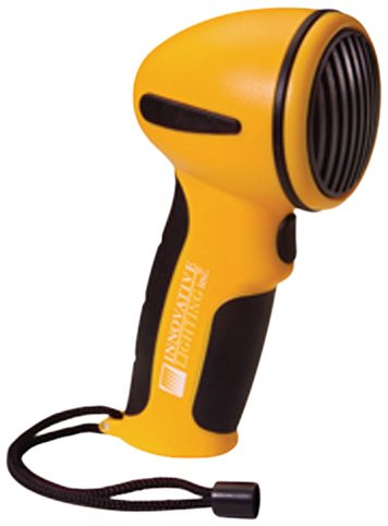 Innovative Lighting 545-2010-7 Yellow Hand Held Electric Horn (Handheld Power Horn)