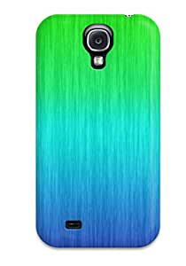 Fashionable Style Case Cover Skin For Galaxy S4- Green&blue