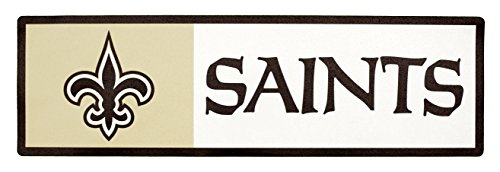 Applied Icon, NFL New Orleans Saints Outdoor Step Graphic Decal ()