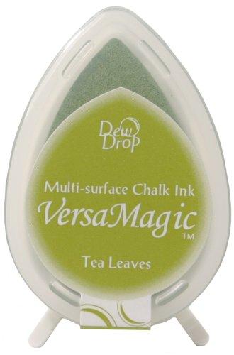 Tsukineko VersaMagic Dew Drop Inkpad of All Kinds, Tea Leaves