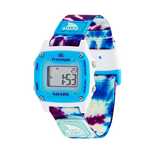 Freestyle Shark Mini Clip Tie-Dye Blue Daze Unisex Watch FS101039