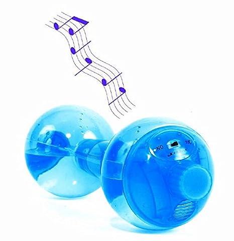 Mancuernas para agua con sonido musical (paquete con 2 unidades)