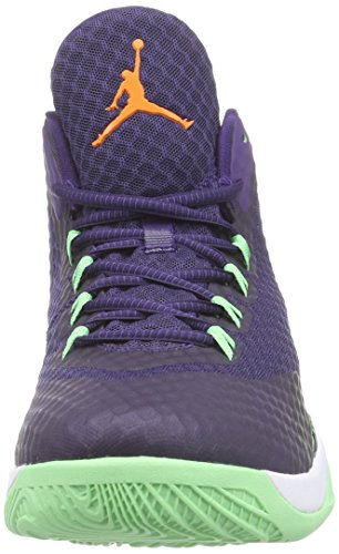 Air Jordan [724934-505] Super.fly 3 Po Hommes Chaussures Air Jordanink Brillant Mandarine Noir Whitem