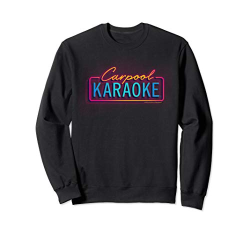 The Late Late Show with James Cordon Neon Logo Sweatshirt (The Late Late Show With Craig Ferguson Episodes)