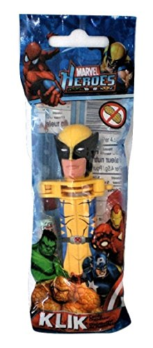 Wolverine Klik Candy Dispenser Marvel Heroes