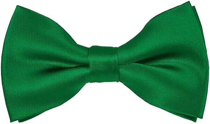 Kelly Green Wedding Satin Cravat Mens /& Boys