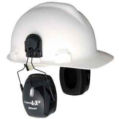 Leightning L3H, NRR 27 Earmuff Hard Hat -