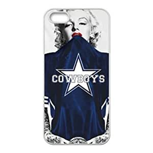 For SamSung Galaxy S4 Mini Case Cover ;Marilyn Monroe in NFL Dallas Cowboys blue Jersey pc (Hard shell) Cases Accessories For SamSung Galaxy S4 Mini Case Cover