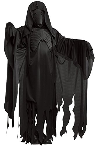 [Dementor Costume - Standard - Chest Size 46] (Harry Potter Dementor Fancy Dress Costume)