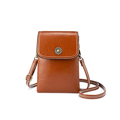 Small Crossbody Purse Cell Phone Purse Small Crossbody Bags for Women Cell Phone Wallet with Shoulder Strap (Best Cell Phone Carrier)