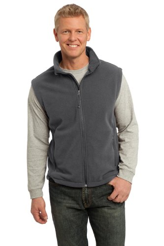 Port Authority Men's Value Fleece Vest M Iron Grey