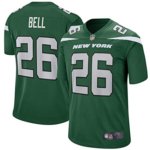 Jersey New Jets York (VF LSG #26 Le'Veon Bell New York Jets Game Jersey - Green M)