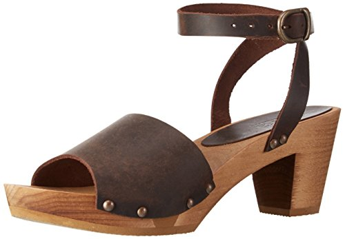 - Sanita Yara Flex for Women Size US W 10.5-11 Antik Brown. Fancy Sandals Made from Wood and Leather.