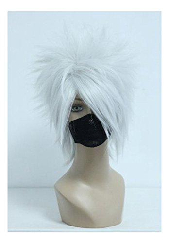 COSPLAZA Cosplay Silver White Short product image