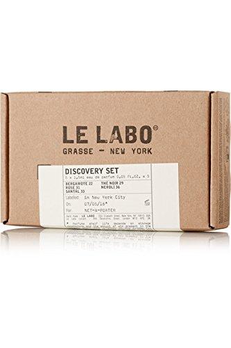 - Le Labo Discovery Set Santal 33, Rose 31, Bergamote 22, Another 13 & The Noir 29 Sampler - .05 oz. Each