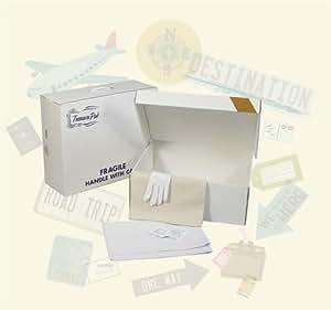 Acid free wedding dress gown storage travel for Acid free cardboard box for wedding dress