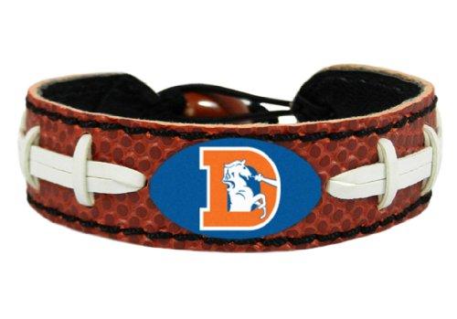 GameWear NFL Denver Broncos Vintage Logo Classic Football (Football Gamewear Bracelet)