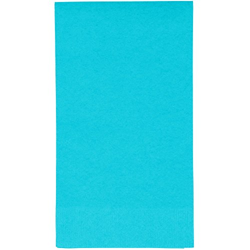Bermuda Blue Disposable Dinner Napkins 3-Ply 50 ct