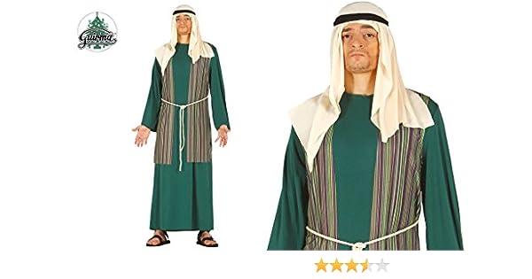 Traje judaeo de pastor verde judío Cuna de la multitud viviente ...
