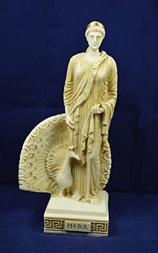 Hera sculpture ancient Greek Goddess aged statue