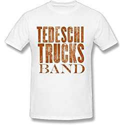Tedeschi Trucks Band Wheels Of Soul Tour Logo T Shirt For Men