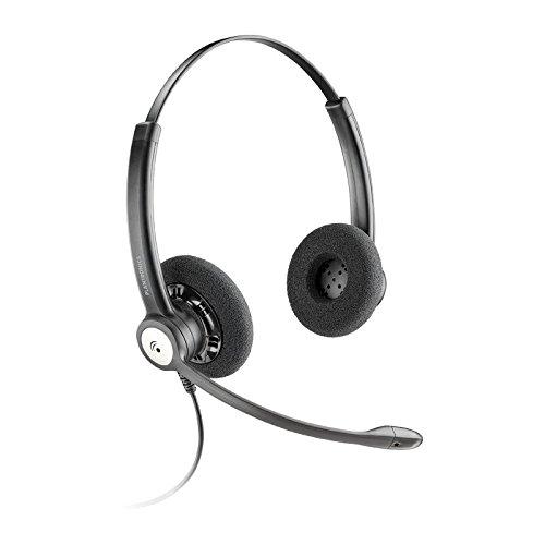 Plantronics Entera HW121N USB Binaural Head-band Black headset