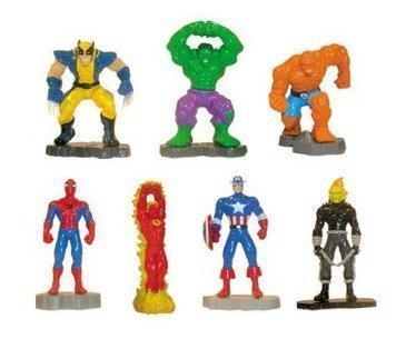 Marvel Vending Machine Super Hero Mini Figures - Lot of -
