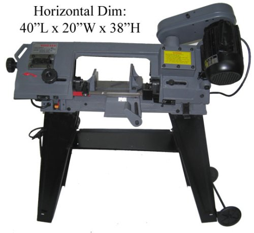 Gray Metal 4x6 Horizontal Vertical Metal Cutting Band saw