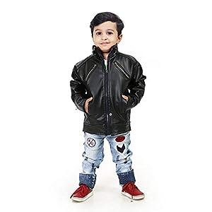 Boy's Jacket (Black, 13-14 Years)