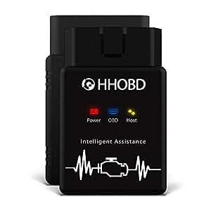 el original EXZA® HHOBD® Bluetooth Par Android interfaz CAN BUS de diagnóstico - Coche OBD 2