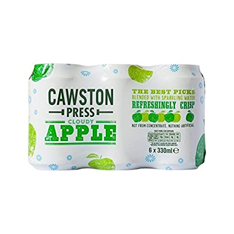Cawston Press Sparkling Cloudy Apple 6 x 330ml (Geo Press)