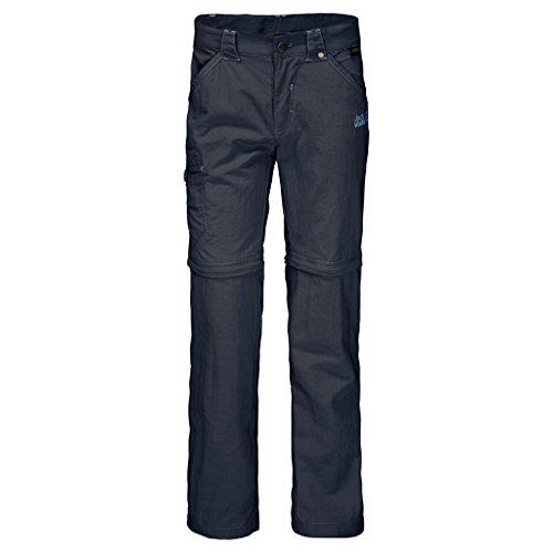 Jack Wolfskin Safari Zip Off Pants (Infant/Toddler), Night Blue, Size 92 (18-24 Months Old) (Mens School Uniform Zip)