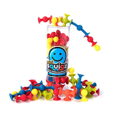 Set Construction Piece 30 (Fat Brain Toys 30 pc Mini Squigz - Mini Squigz 30 Piece Set)