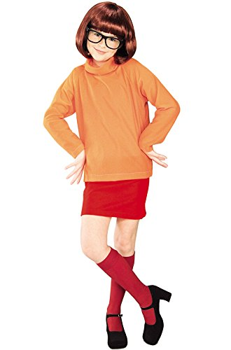 Kids Costumes Hallowen For (Velma Childs Costume from Scooby)