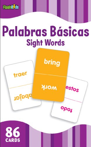 Sight Words (Flash Kids Spanish Flash Cards) 86 Cards (Flash Kids Flash Cards)