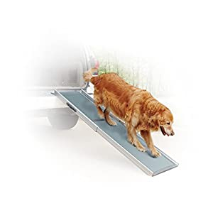 PetSafe Solvit Deluxe Telescoping Pet Ramp, Standard, 39 in. - 72 in., Portable Lightweight Aluminum Dog 21