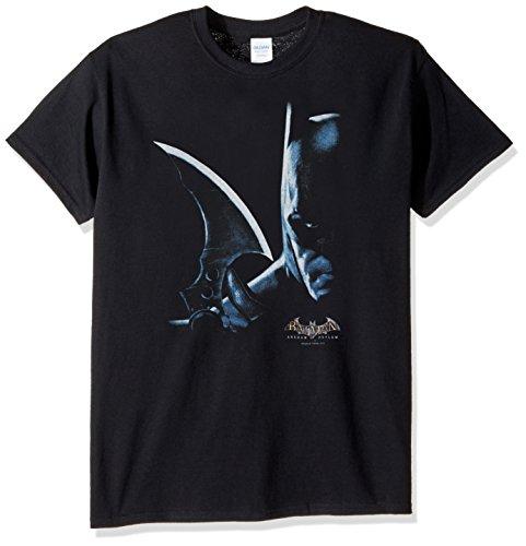 Trevco Men's Aa Arkham Batman Adult T-Shirt at Gotham City Store
