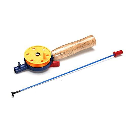 Fishing Rods - Ultra-Light Fishing Ice Fishing Reel Rod Proof Light Pole - 1PCs