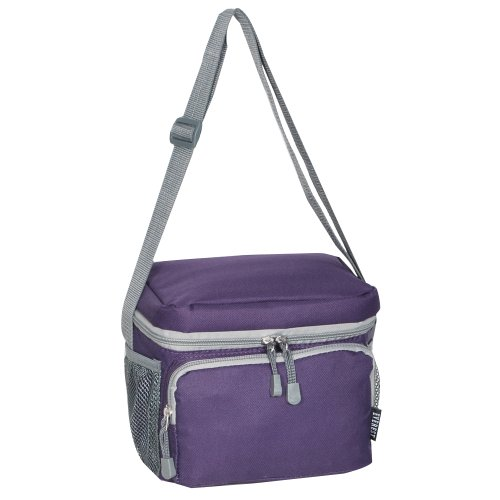 Everest Cooler Lunch Bag, Eggplant Purple, One - Mug Desk 12 Ounce