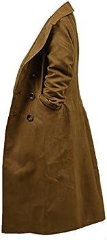 Star Flower Children Boys Brown Long Trench Coat