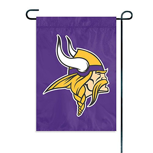 Party Animal Minnesota Vikings Garden Flag (Vikings Flag Minnesota Window)