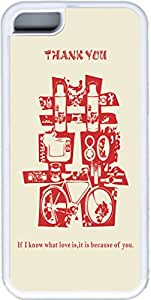 Chinese Traditional Xi Means Marriage Iphone 5c Cases, Iphone 5c Case- White Sides