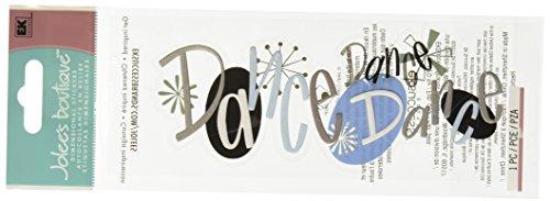 A Touch Of Jolee's I Do Wedding Title Waves 3-D Stickers, Dance Dance Dance