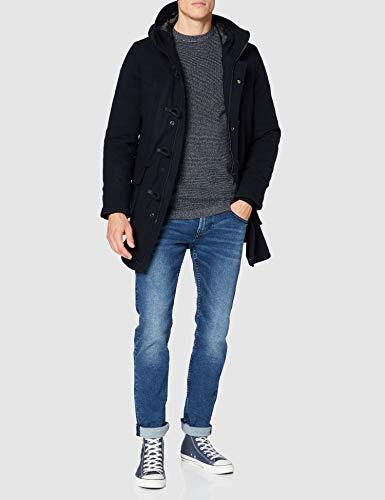 Superdry Wool Duffle Coat Manteau en Laine Homme