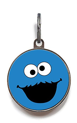 (Wag-A-Tude Tags Cookie Mon-Star Pet Tag with Personalized Reverse (Large))