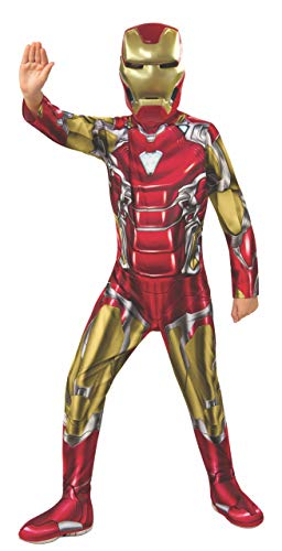 Rubie's Marvel Avengers: Endgame Child's Iron Man Costume & Mask, Medium]()